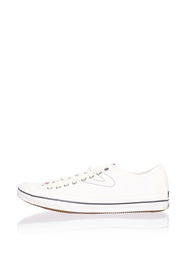 Tretorn Men's Skymra SL Plaid Sneaker (Snow White)