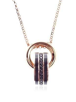 JOOP! Halskette 86265702 schwarz/goldfarben