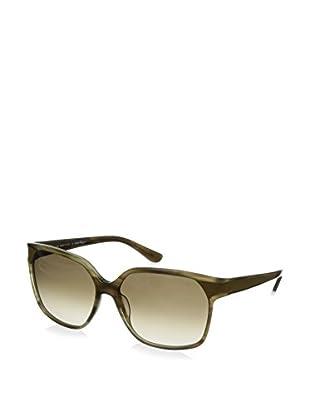 Salvatore Ferragamo Women's SF622SL Sunglasses, Olive Green