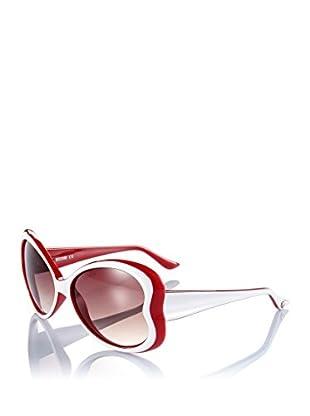Moschino Sonnenbrille MO-59807-S weiß/rot