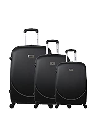 Zifel Set de 3 trolleys rígidos Parmes