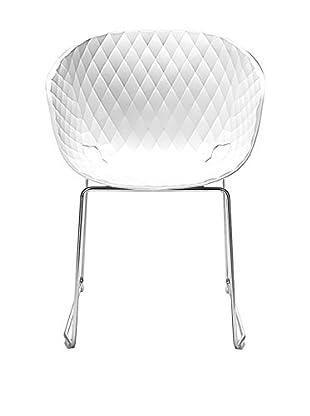 Metalmobil Stuhl Unika-595 weiß/chrom