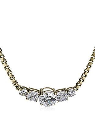 Dyrberg/Kern Halskette Dorelia Sg Crystal gold/transparent