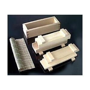 木曽工芸 太巻き・押し寿司作り器セット