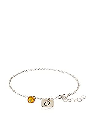 Silver One Pulsera Charms Q