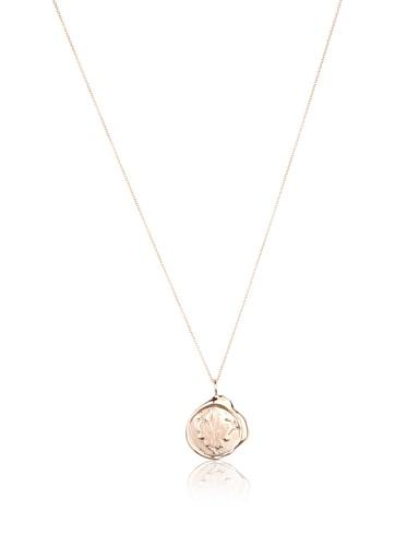 Catherine Angiel Rose Gold Fleur-de-Lis Seal Pendant