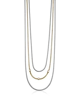 Esprit Collar Conjunction Plateado / Dorado