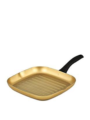 Stonegold Grillpfanne gold/schwarz