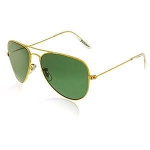 Benour AV-GLD-GRN Sunglasses - Green