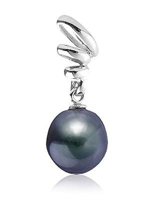 Compagnie générale des perles Colgante Bélière Plata / Negro