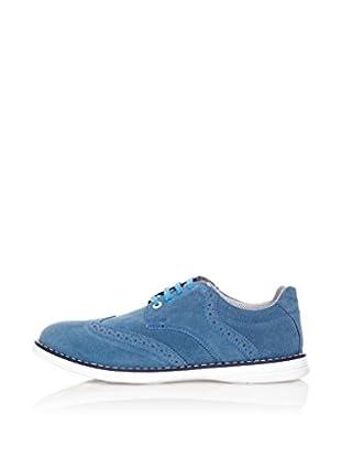 Star Jaguar Zapatos Derby Contrast (Azul)