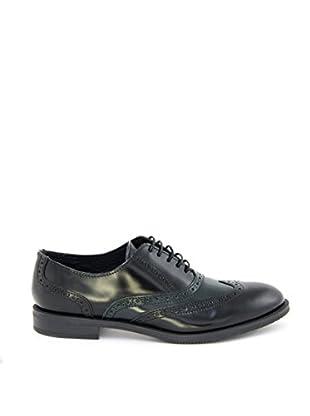 Bluetag Zapatos Oxford Shrikes (Negro)