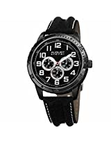 August Steiner Black Mens Watch As8116Bk