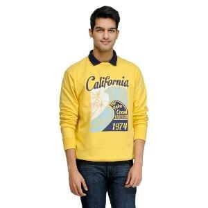 Yepme Men's Sweatshirt - Yellow