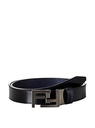 FENDI Cintura Double F Logo Plate Buckle
