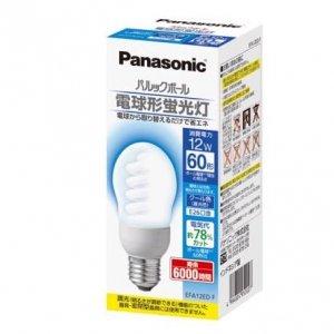 【クリックでお店のこの商品のページへ】Panasonic パルックボール A60形 電球60形タイプ E26口金 クール色 EFA12EDF: ホーム&キッチン