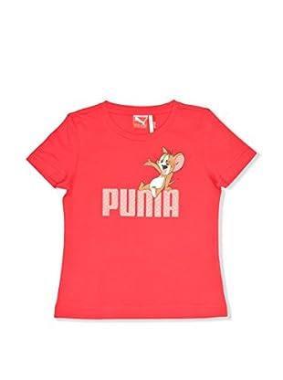 Puma T-Shirt Manica Corta Fun Tom & Jerry Tee