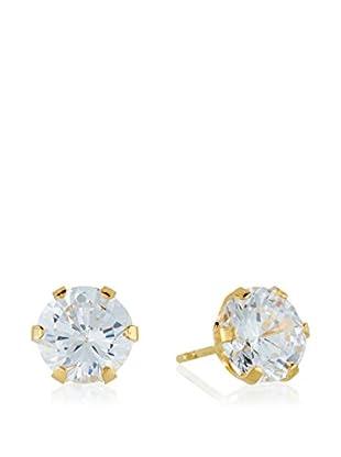 GOLD & DIAMONDS Ohrringe Zirconia