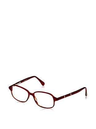 E. Zegna Montura VZ3501_06DR (52 mm) Rojo