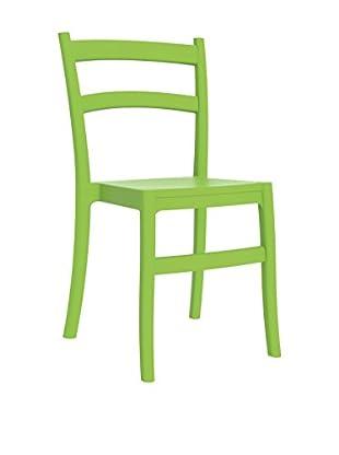Officine Fiam Stuhl 2er Set Tiffany grün