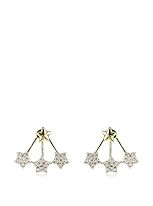 CZ BY KENNETH JAY LANE Ohrringe Triple Star