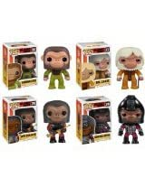 Funko Planet of the Apes Set of 4: Cornelius Dr. Zaius General Ursus & an Ape Soldier