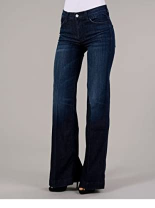 7 for all Mankind Jeans Boot Cut (Dunkelblau)