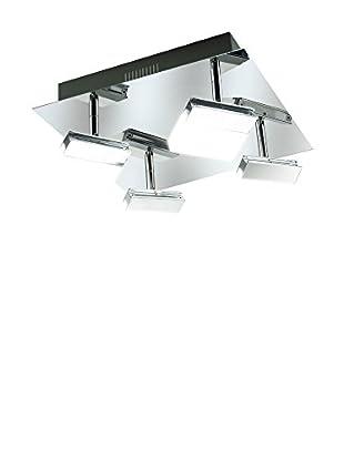 WOFI Deckenlampe LED Sonett chrom