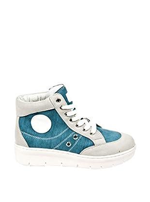 Destroy Zapatillas Abotinadas (Azul)