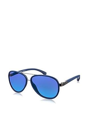 Calvin Klein Occhiali da sole J758S-405 (59 mm) Blu Scuro