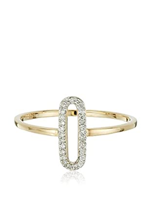 Bentelli Anillo 9K Gold 0.07Ct Diamonds