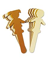 "Paperboard People Craft Sticks, 4 1/2"" x 3/8"" x 2mm, 6/Set"