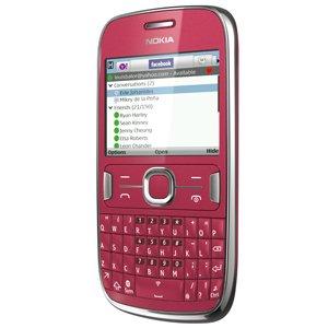 Nokia Asha 302 (Red)