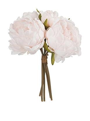 ESPECIAL SAN VALENTIN Set Flor Artificial 5 Uds. Boeket Pioenrozen S
