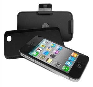 PURO iPhone4&4Sケース 3X1BLK