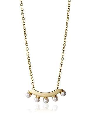 Yochi Delicate Pearl Pop Necklace