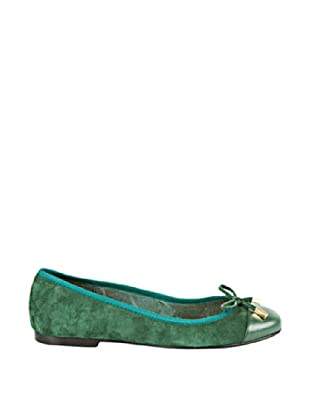 Cortefiel Bailarina Lazo (Verde)