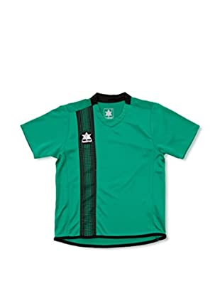 Luanvi Camiseta Manga Corta River (Verde / Negro)