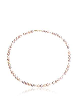 Compagnie générale des perles Collana Rosa/Bianco