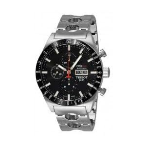 Tissot Men's T0446142105100 T-Sport PRS516 Automatic Black Day Date Dial Watch