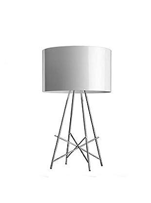Flos Tischlampe Ray T mit Dimmer weiß Ø36 H 67 cm