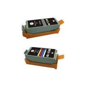 【クリックでお店のこの商品のページへ】Canonキャノン BCI-19BK&BCI-19CLRの2個セット互換インク: パソコン・周辺機器