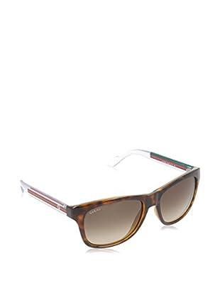 Gucci Sonnenbrille 3709/S-2W0 (57 mm) havanna