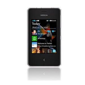 Nokia Mobile Asha 500 White
