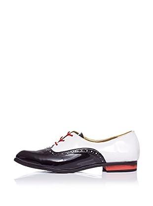 Lua Lua Zapatos de Cordones Combinado