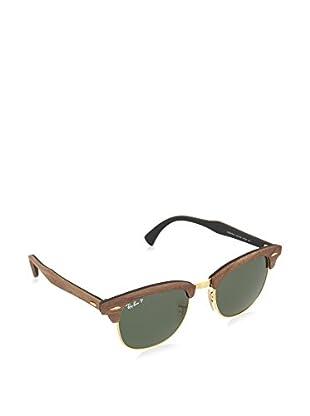 Ray-Ban Sonnenbrille Polarized Clubmaster (51 mm) braun