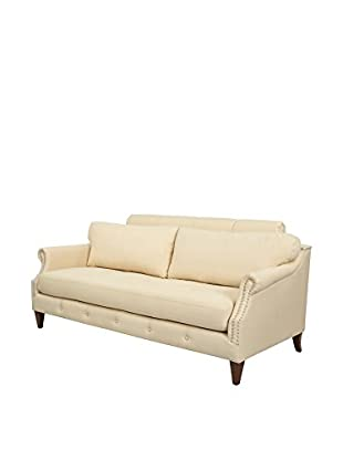 Jennifer Taylor Home Lucca Sofa, Tan