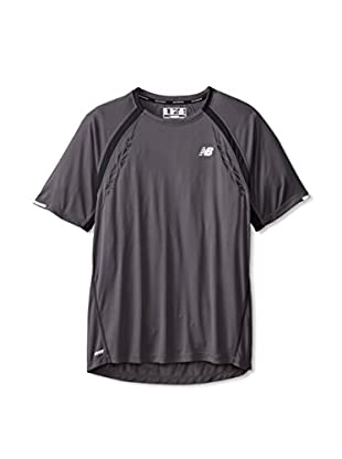 New Balance Men's Impact Short Sleeve Tee (Magnet)
