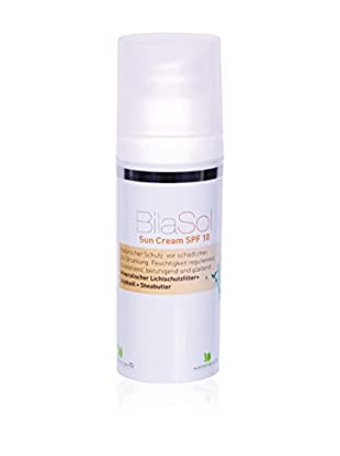 BilaSol Sun Cream SPF 10, 1er Pack (1 x 50 ml), Preis/100ml: 25,9 EUR