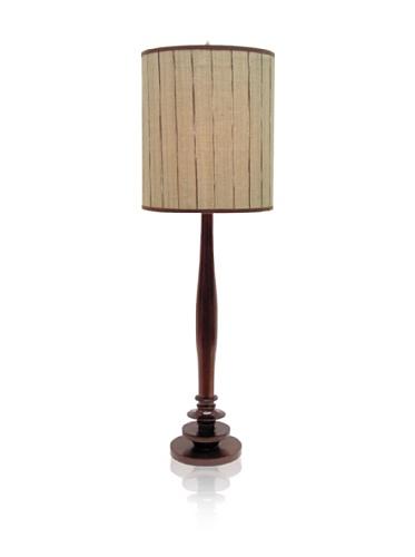 Palecek Burlington Lamp (Dark Brown)